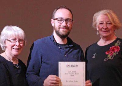 Dr Mark Bates - IACR AOIFA Seed Funding Award 2019