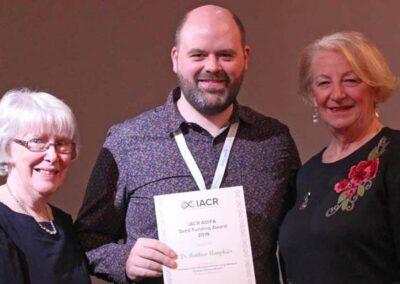 Dr Matthew Humphries - IACR AOIFA Seed Funding Award 2019